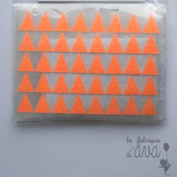 "Appliqué en flex thermocollant ""Minis triangles"""