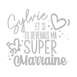 Et si tu devenais ma super marraine