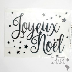 flex thermocollant Joyeux Noel